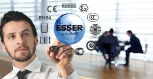 Фото логотип Ессер