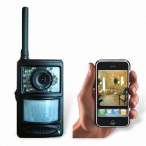 Управление GSM систем идет с помощью телефона