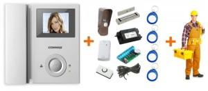 Сколько стоят услуги по установке видеодомофона