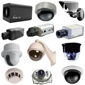 разнообразие уличных камер наблюдения