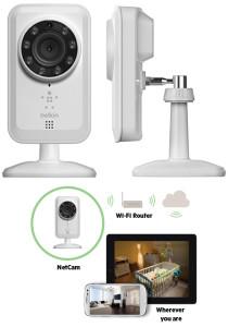 стандартная конструкция камеры для наблюдения Wi-Fi