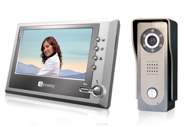Установить видеодомофон в квартире