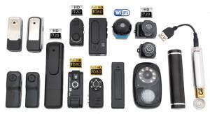 виды миниатюрных видеокамер