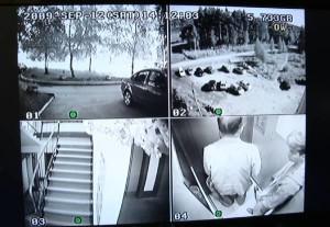 Видеонаблюдение в подъезде