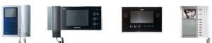 с цветным и черно-белым экраном различные виды видеодомофона