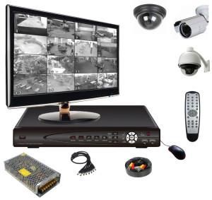 какое нужно оборудование для видеонаблюдения