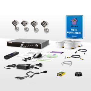 Комплектация систем видеонаблюдения