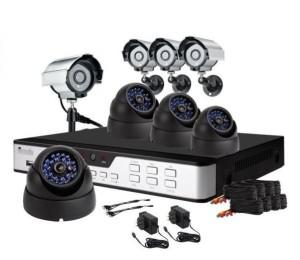 Комплект на 8 камер IpCor