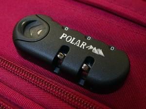 замки для чемодана марки Polar