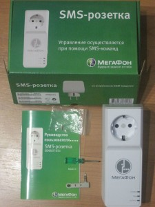 розетка Мегафон упаковка