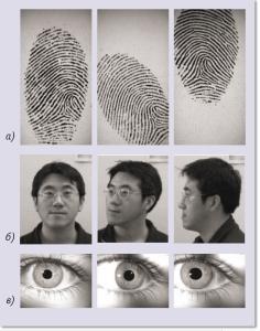биометрические  аутентификации защиты и распознавания