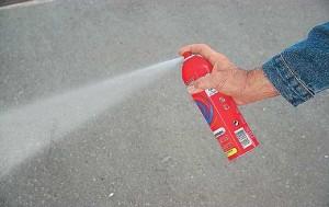 Аэрозольный огнетушитель