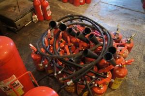 перезарядка и заправка огнетушителей