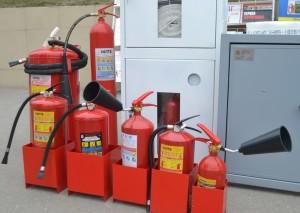 Что следует учитывать при  подборе огнетушителя