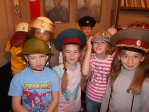 Посещение музее пожарного дела