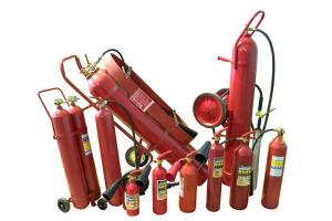Модели огнетушителей марки ОУ