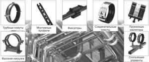 Различные виды соединений для монтажа противопожарной системы