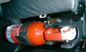 Подбираем огнетушитель в машину