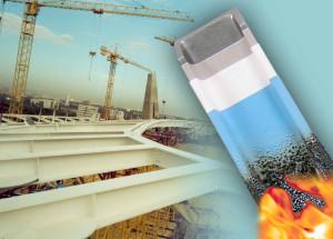 Немного о защите от огня строительных конструкций