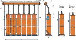 Схема устройство установки газового модуля