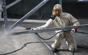 Огнезащита  металический конструкций