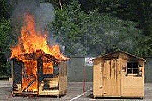 Эффективность пропитки и защитных составов от огня