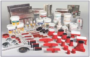 Примененние необходимых материалов для защиты конструкций кабелей и элементов здания