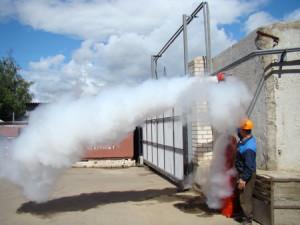 Как подобрать эффективную систему порошкового пожаротушения