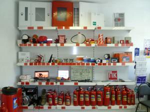 Необходимые средства пожаротушения