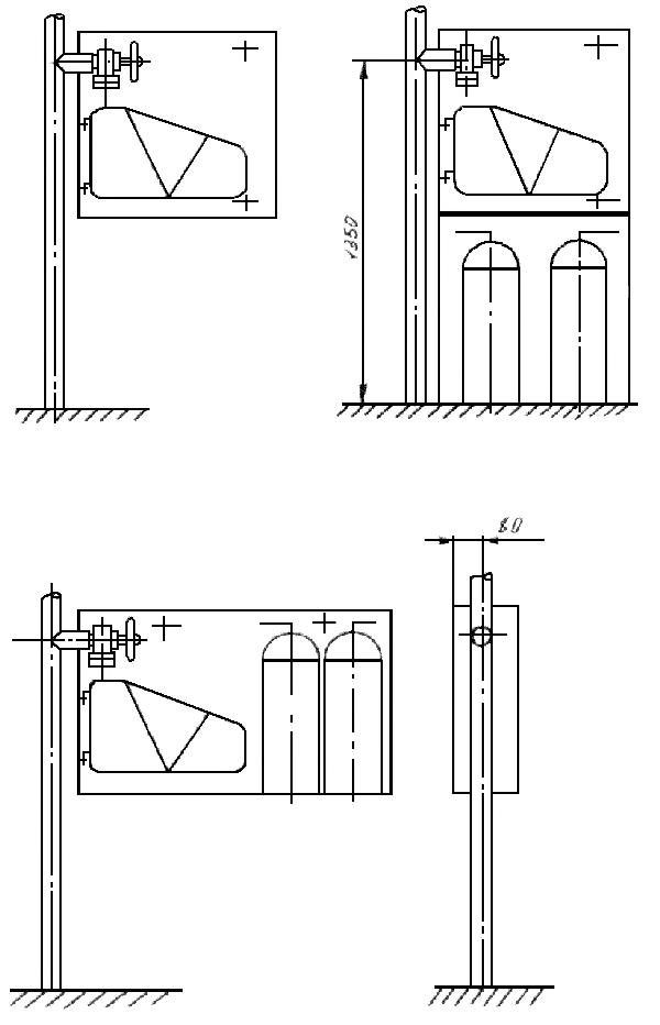 Схема монтажа ПШ