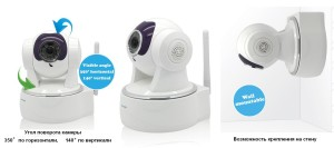 модель ramili wifi baby monitor rv800
