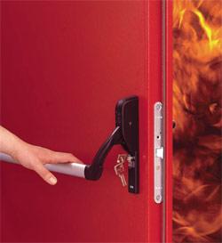 Выбор металлических противопожарных дверей