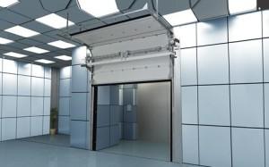ворота противопожарные секционные