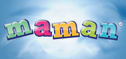 Логотип компании maman