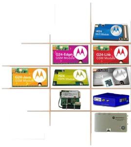 ЛОготип и продукция компании Motorola