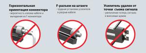 Ошибки при покупке и установке антены  усилителя